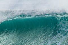 Wave Ocean Crashing Closeup Detail Stock Photo