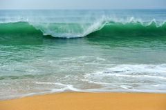 Wave of the ocean Stock Photo