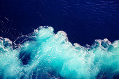 Wave ocean water background. Abstract wave ocean water background Stock Photo