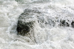 Wave and old per Royalty Free Stock Image