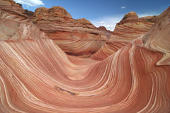The Wave. Paria Canyon. Stock Images