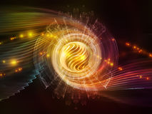 Wave Particle Stock Image
