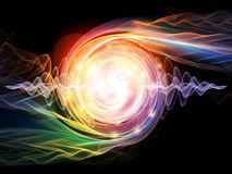 Wave Particle Royalty Free Stock Photo