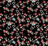 Japanese Spoon Flower Art Seamless Pattern stock image