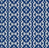 Japanese Diamond Chain Seamless Pattern. On gray background stock illustration