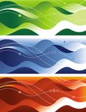 Wave pattern Royalty Free Stock Image