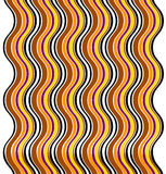 Wave pattern. Abstract wave pattern or background illustration stock illustration
