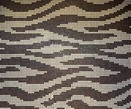 Mosaic wall tiles stock images