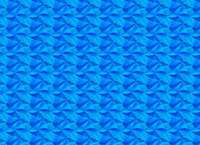 Wave pattern. Cyan wave pattern with gradient mosaic Royalty Free Stock Images