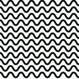 Wave pattern design graphic vector. Royalty Free Stock Photos