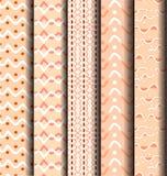 Wave pattern geometry Royalty Free Stock Photos