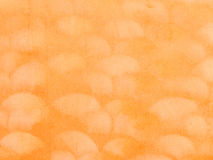 Wave pattern on orange fabric suede Stock Image