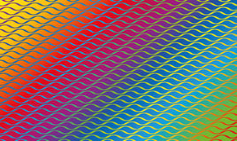 Wave Pattern Rainbow Colored Gradient Royalty Free Stock Photo