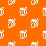 Wave pattern seamless Royalty Free Stock Photo