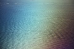 Wave pattern in sea Stock Photography