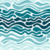 Wave pattern Stock Image