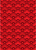 Wave Pattern. Wallpaper illustration style Stock Images