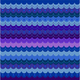 Wave. pattern Royalty Free Stock Images