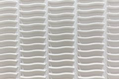 Wave pattern. White wave pattern with close up background Stock Image