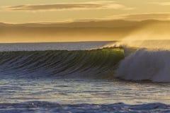 Wave Perfect Morning stock photos