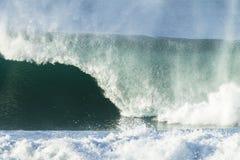 Wave Power Stock Photo
