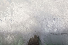 Wave Power Tidal Pool Royalty Free Stock Photos
