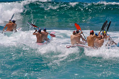 Wave race Royalty Free Stock Photography