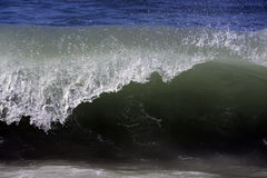 Wave reaches shoreline Royalty Free Stock Photography