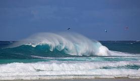 Wave and recreation Royalty Free Stock Images