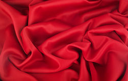 Wave of Red cotton Stock Photo