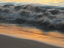 Wave with reflection royalty free stock image