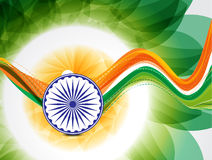 Wave Republic Day Background Stock Photos