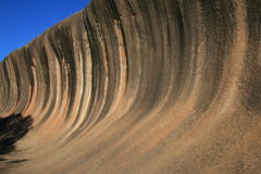 Wave Rock. The amazing Wave Rock formation in Hyden, Western Australia Stock Images