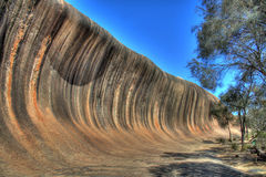 Wave Rock. Australia - HDR version Royalty Free Stock Photo