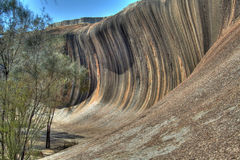 Wave Rock. Hyden, Western Australia - HDR Version Royalty Free Stock Image