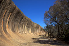 Wave Rock Royalty Free Stock Photography