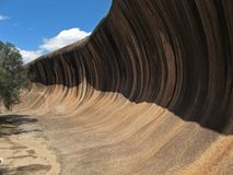 Wave Rock Royalty Free Stock Photos