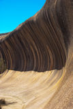 Wave Rock Formation Near Hayden, Australia Royalty Free Stock Image