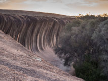 Wave Rock, Hyden, Western Australia Royalty Free Stock Photography