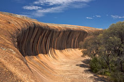 Wave Rock In Western Australia Royalty Free Stock Images