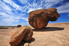 Wave Rock,Western Australia Royalty Free Stock Images