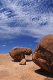 Wave Rock in Western Australia Stock Photos