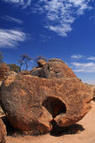 Wave Rock in Western Australia Stock Photography