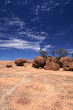 Wave Rock in Western Australia Royalty Free Stock Photography