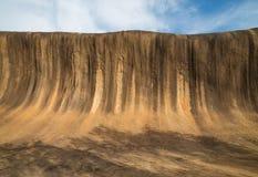 Wave Rock in Western Australia Stock Photography