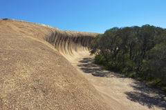Wave Rock, Western Australia Royalty Free Stock Images