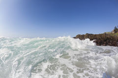 Wave Rocks Beach Royalty Free Stock Photos