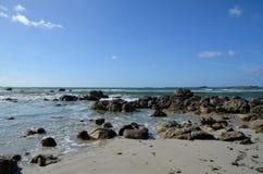 Wave Rocks Sea coast atlantic Royalty Free Stock Image