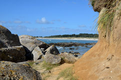 Wave Rocks Sea coast atlantic Stock Photo