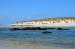 Wave Rocks Sea coast atlantic Stock Image
